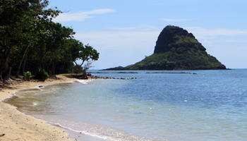 Windward Oahu Scenic Drive: Chinaman's Hat