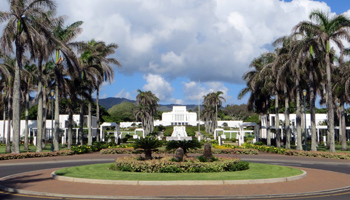 Windward Oahu Scenic Drive: Laie Hawaii Temple