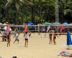 Youth Beach Volleyball at Duke's Oceanfest