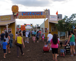 Aloun Farms Pumpkin Patch Entrance