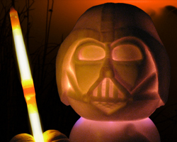 Hawaii Pumpkin Patch: Darth-O-Vader