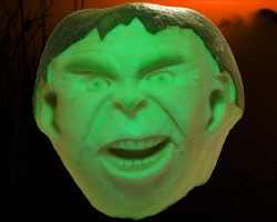 Hawaii Pumpkin Patch: Hulk-O-Lantern