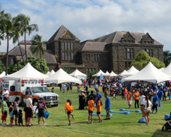 YMCA Healthy Kids Day at Bishop Museum Hawaii