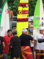 Blessing of the Invitees at the Eddie Aikau Big Wave Invitational Opening Ceremony