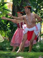 Hawaii Vacation Fun Blog Dancers at Prince Lot Hula Festival