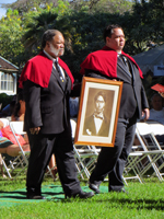 Opening Procession by the Royal Order of Kamehameha I at Prince Lot Hula Festival