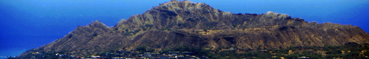 Diamond Head Crater as Seen from Koko Crater