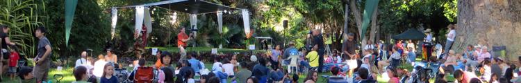 Twilight Summer Concert Series at Foster Botanical Garden