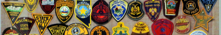 Police Patches Display at Honolulu Police Museum