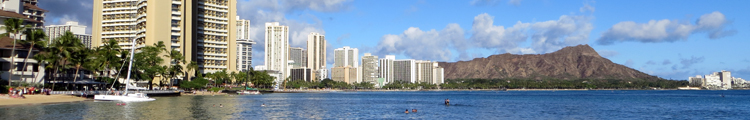 Hawaii Hotels on Waikiki Beach