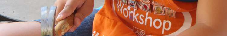 Home Depot Kids Workshop Apron and Project Pins