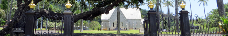 Mauna Ala Royal Mausoleum of Hawaii