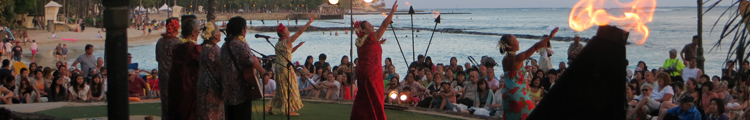 Torch Lighting Ceremony & Free Hula Show Dancers