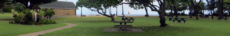 Picnic Area at Waimea Bay