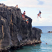 Hawaii Adventure Cliff Jumping at Waimea Bay