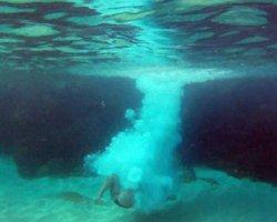 Check Water Depth Before Jumping Off the Rock at Waimea Bay