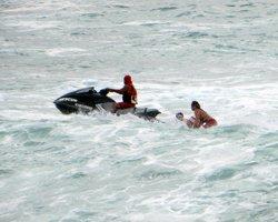 Rescue at Waimea Bay