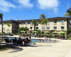 Beachfront Oahu Hotels Courtyard North S