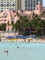 Waikiki Beach Hotels: The Royal Hawaiian, Waikiki