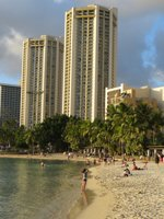Waikiki Beach Beauty