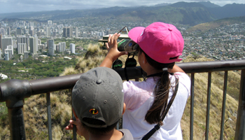 Diamond Head Crater Lookout
