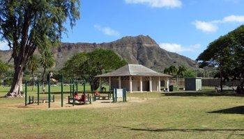Exercise Area at Kapiolani Park