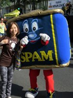 Waikiki Spam Jam Mascot