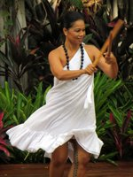 Hula Dancer at Aloha Festivals