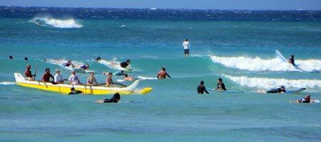 Waikiki Beach Surf2