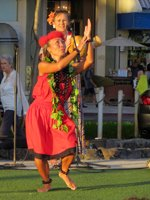Torch Lighting Ceremony & Free Hula Show Dancer