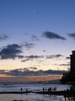 Waikiki Beach Twilight