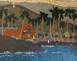Father Damien Museum Molokai Mosaic