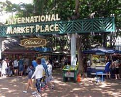Old International Marketplace Entrance (Now Gone)