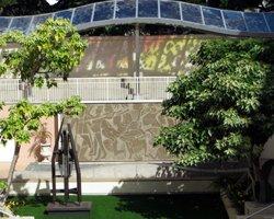Sculpture Garden at the Hawaii State Art Museum