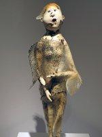 Fish Skin Sculpture at Hawaii State Art Museum
