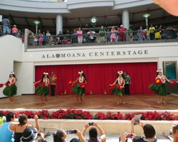 Honolulu Entertainment: Free Hula Show at Ala Moana Center Stage