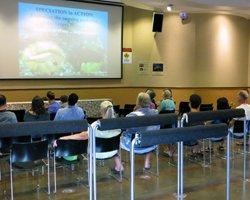 Public Educational Presentation at Hanauma Bay Hawaii