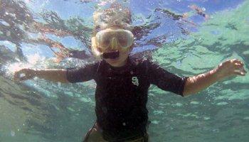First Snorkel at Hanauma Bay Hawaii