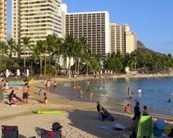 South Shore Oahu Waikiki Beach
