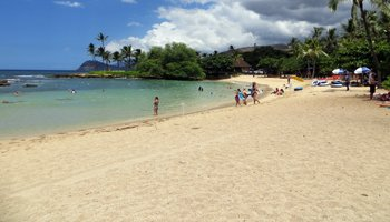 Lanikuhonua Beach on West Shore Oahu