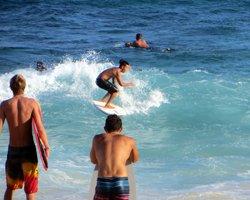 Sandy Beach Oahu Body Boarding