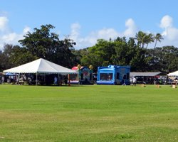 Event at Ala Moana Beach Park