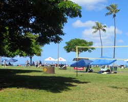 Family Party at Ala Moana Beach Park