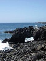 Kaena Point Rock Arch