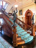Inside Iolani Palace.