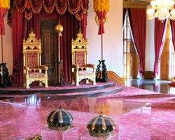 Throne Room Inside Iolani Palace.