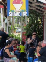 Shave Ice in Haleiwa Hawaii