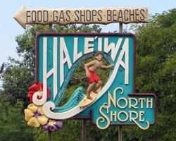 Famous Haleiwa Hawaii Sign