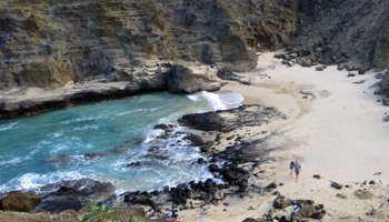 From Here to Eternity Beach at Halona Blowhole