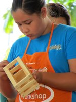 Home Depot Kids Workshop Project Painting
